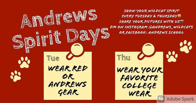 Andrews Spirit Week