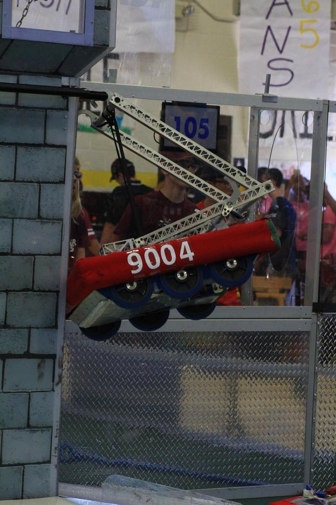 Practice robot hanging
