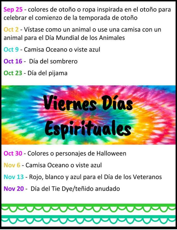 Spirit Days_Spanish