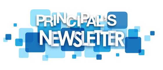 Graphic:  Principal's Newsletter Logo