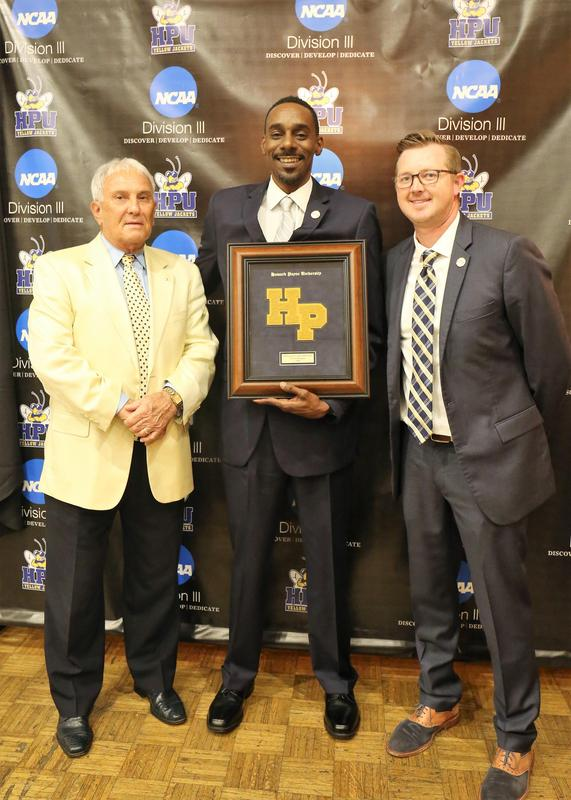 Coach Doug HPU Honoree Award Ceremony Photo