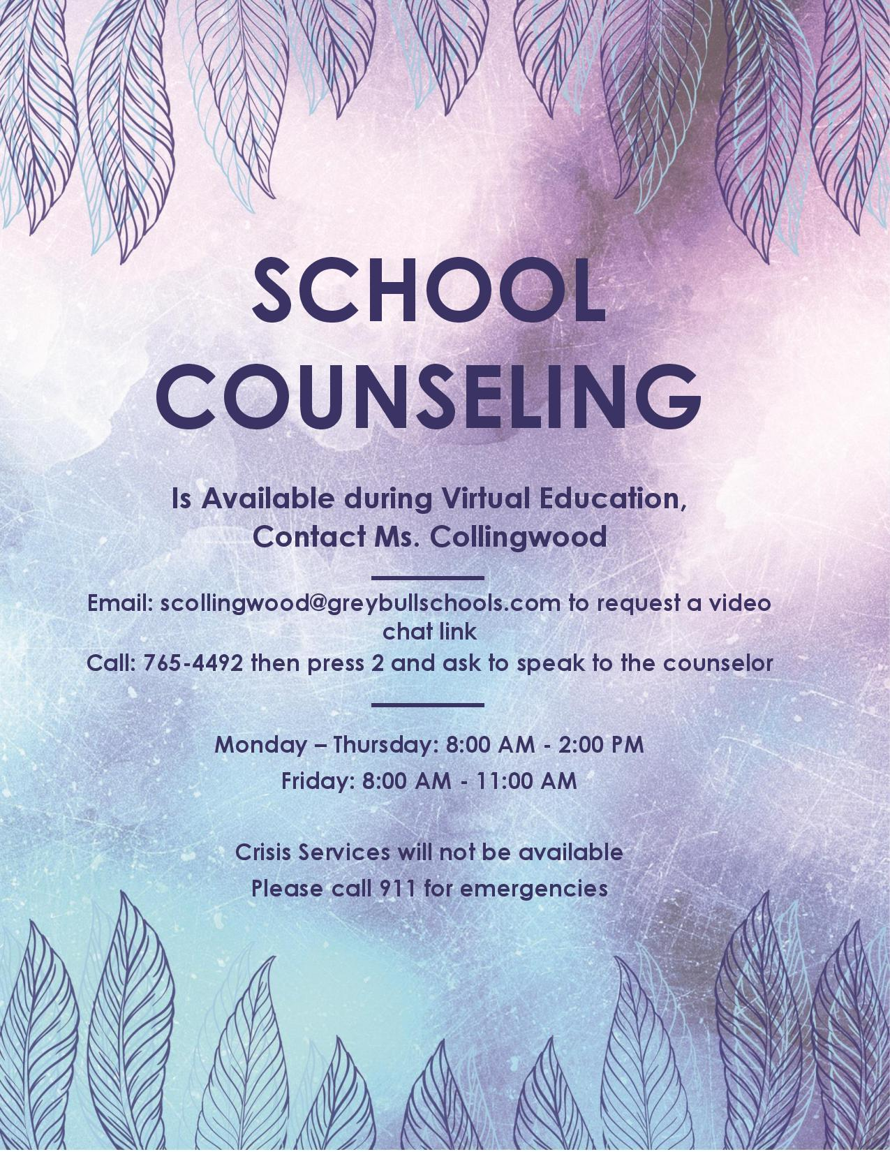 Counseling Info