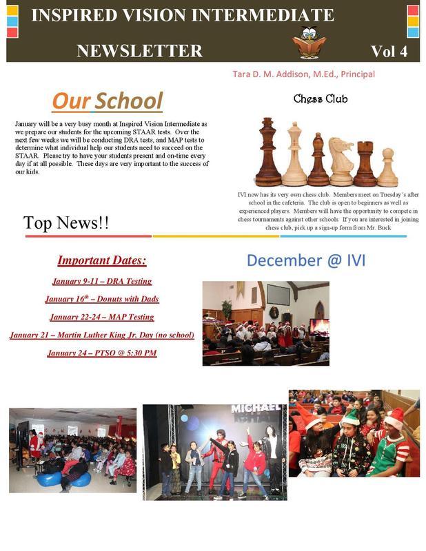 January Newsletter Thumbnail Image