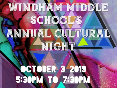 Cultural night is October 3rd Please Sign up for the potluck (click here to print form) Thumbnail Image