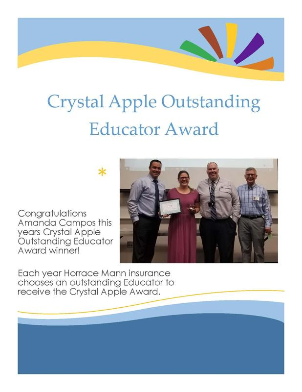2020 Crystal Apple Award - Amanda Campos