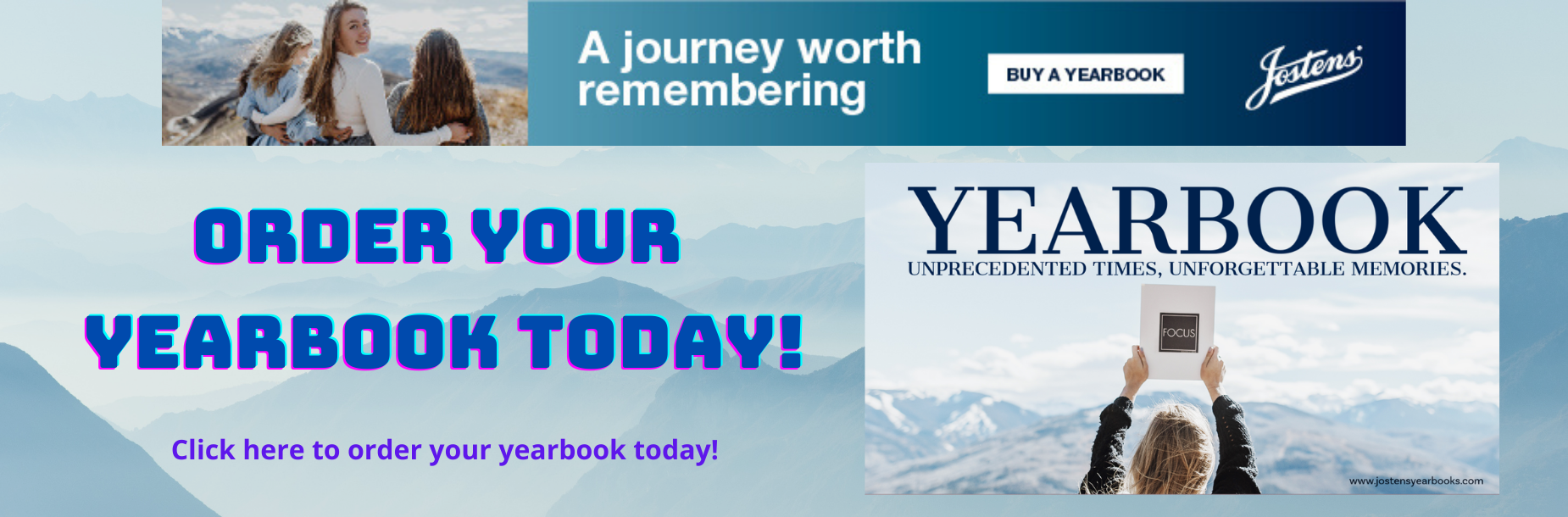 Order your yearbook today