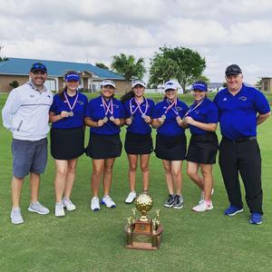 31-6A District Champions - Lady Sabercat Golf