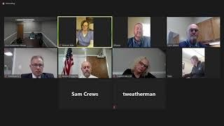Board of Education Virtual Meeting - March 16, 2021 Thumbnail Image