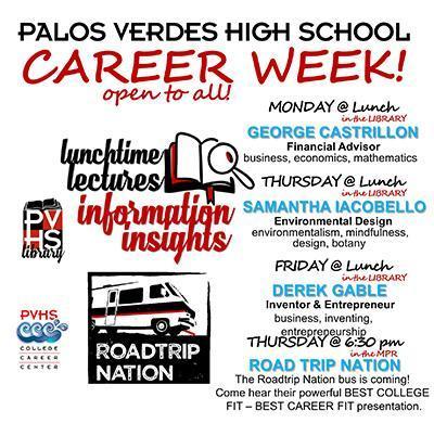 Career Week Begins Monday, Oct 15 Thumbnail Image
