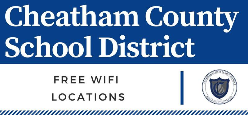 Free WiFi locations in Cheatham County