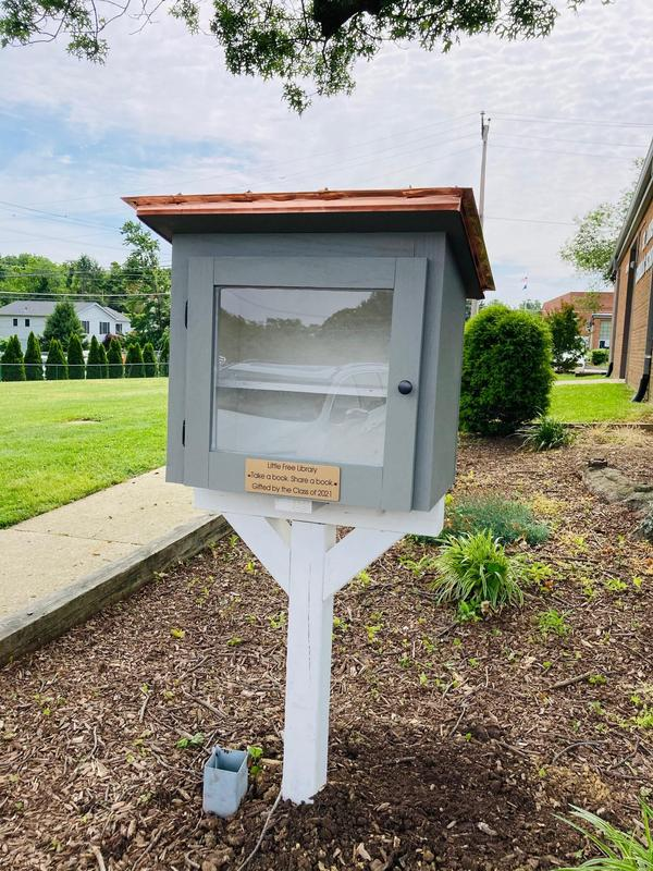 8th Grade Gifts Little Free Library to School Featured Photo