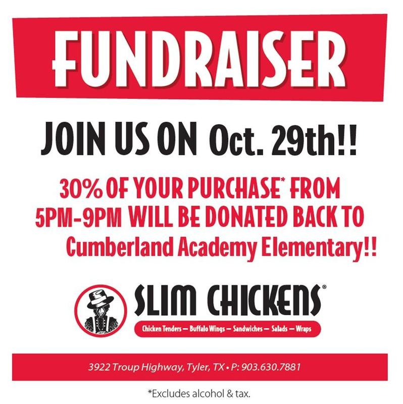 Slim Chickens PTO Fundraiser Featured Photo