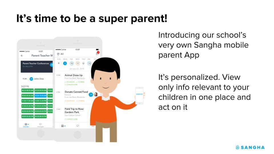 Sangha App For Parents