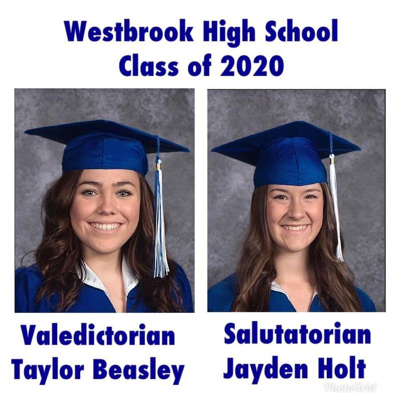 2020 Valedictorian & Salutatorian Featured Photo
