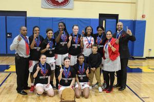 State champion girls basketball team