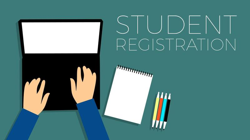 New Students can register online NOW! Featured Photo