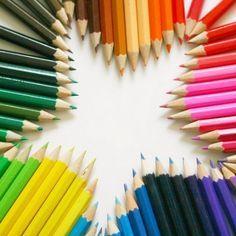star colored pencils