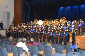 Neshaminy High School Marching Band perform Voyage to Valhalla