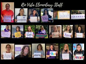 Rio Vista Staff Collage