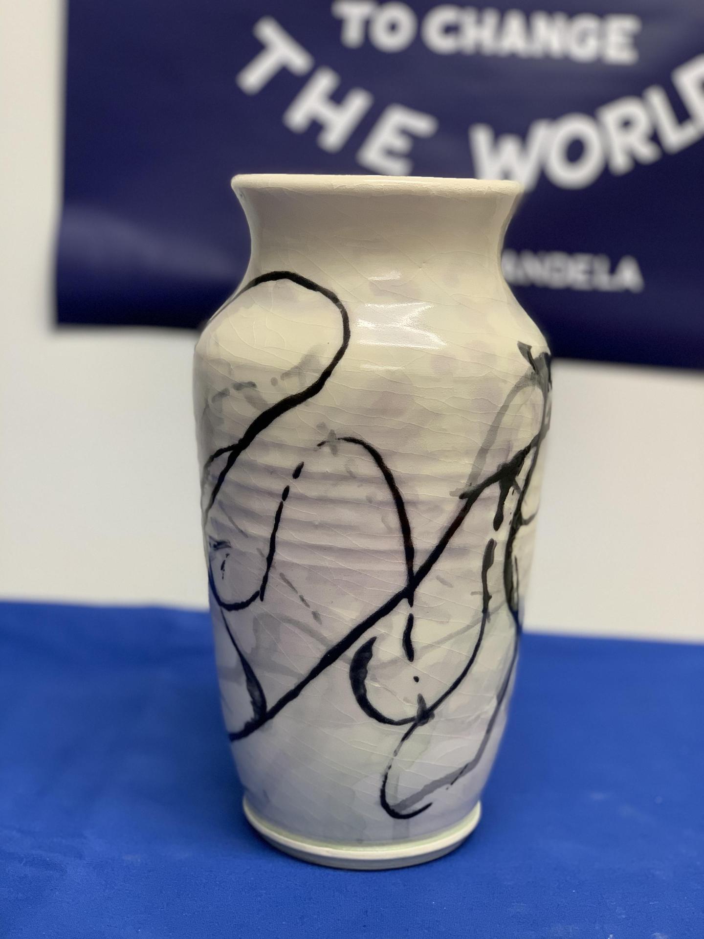 Ceramic Vase from Class