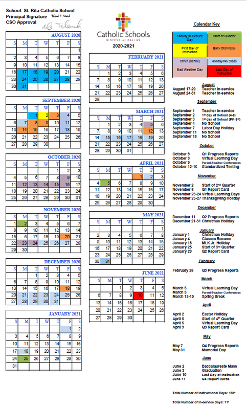 Updated 2020-2021 School Calendar Now Available! Thumbnail Image