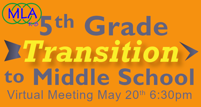 5th Grade Transition Q & A Night - May 20th at 6:30 PM Featured Photo