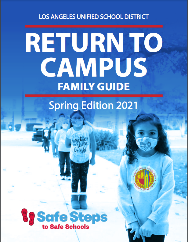 Return to Campus Family Guide/Regreso Al Plantel Escolar Thumbnail Image