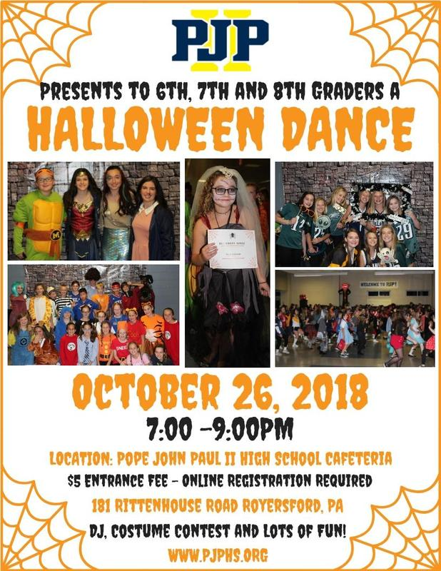 Halloween Dance: Registration Now Open! Thumbnail Image