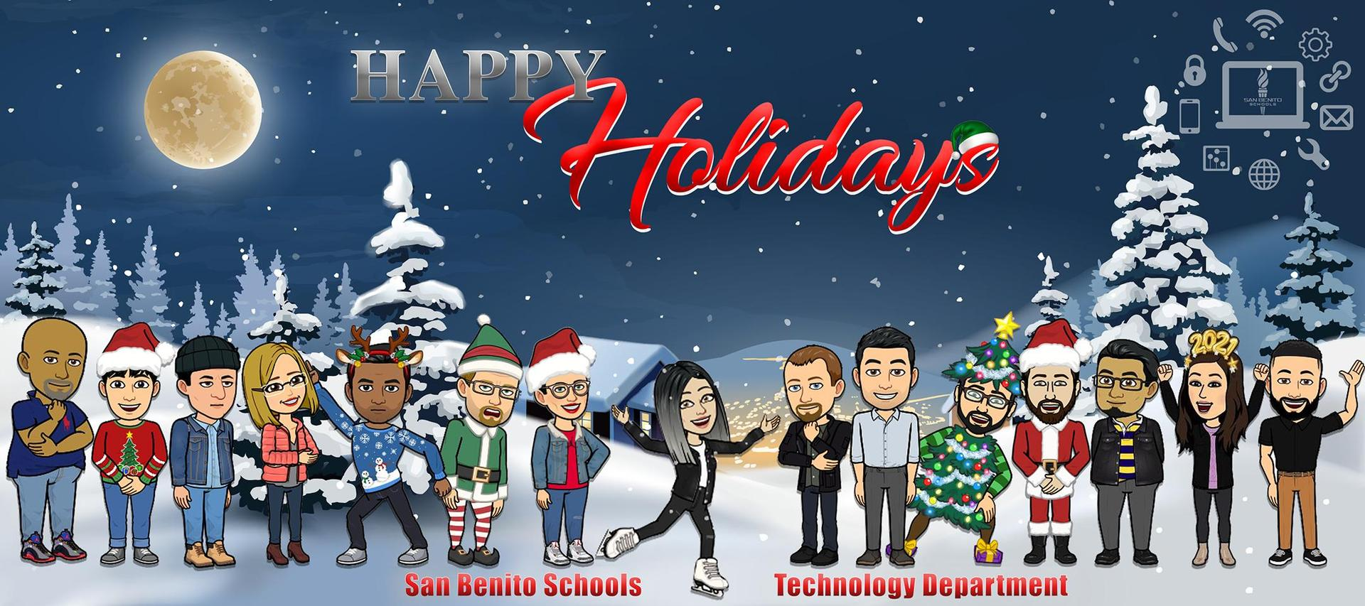 Happy Holidays from Technology Department