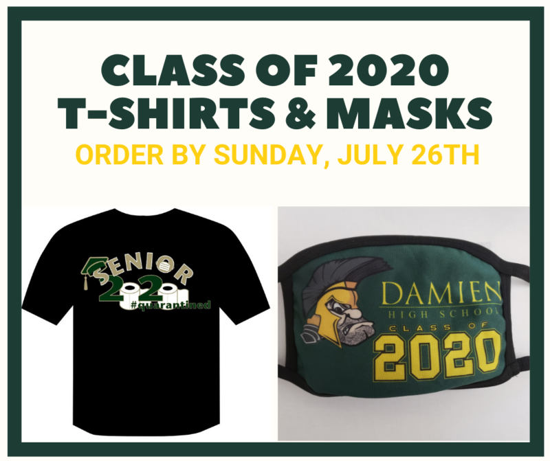 Class of 2020 T-shirts & masks Featured Photo