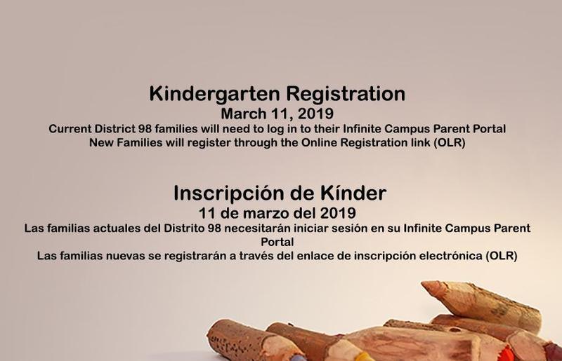 Kindergarten Registration / Inscripción para Kínder Thumbnail Image
