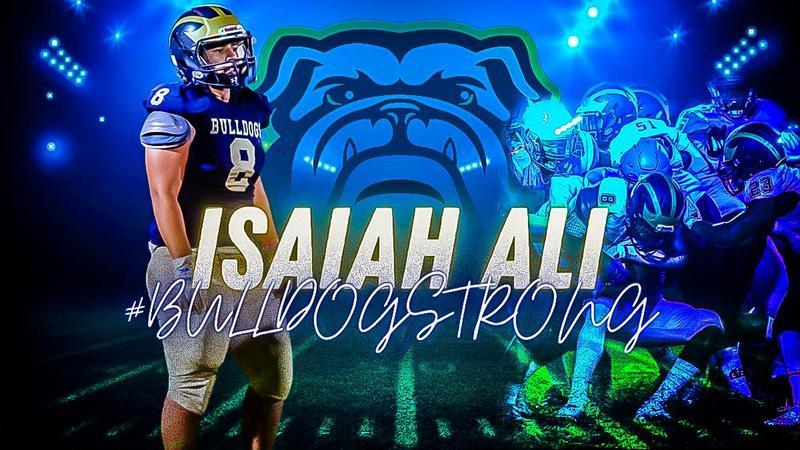 #BulldogSTRONG STUDENT SPOTLIGHT: Isaiah Ali Thumbnail Image