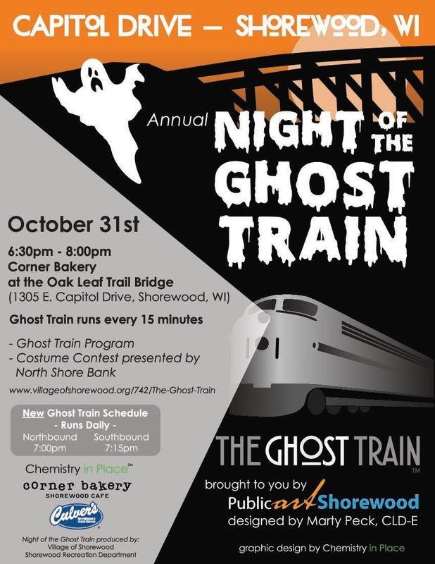 Night of the Ghost Train flyer