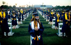 California High School held its commencement ceremony on June 1, during which 598 seniors were celebrated.