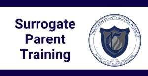 Surrogate Parent Training