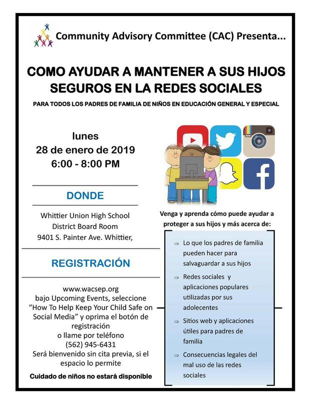 Parent Workshop: How to Help Keep Your Child Safe on Social Media