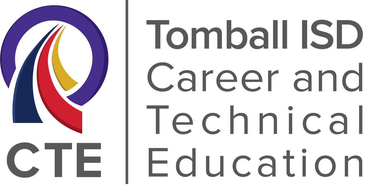 Tomball ISD Career and Technical (CTE) logo