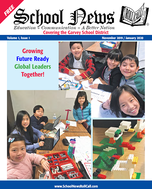 Garvey School District featured in first 'School News' publication! Thumbnail Image