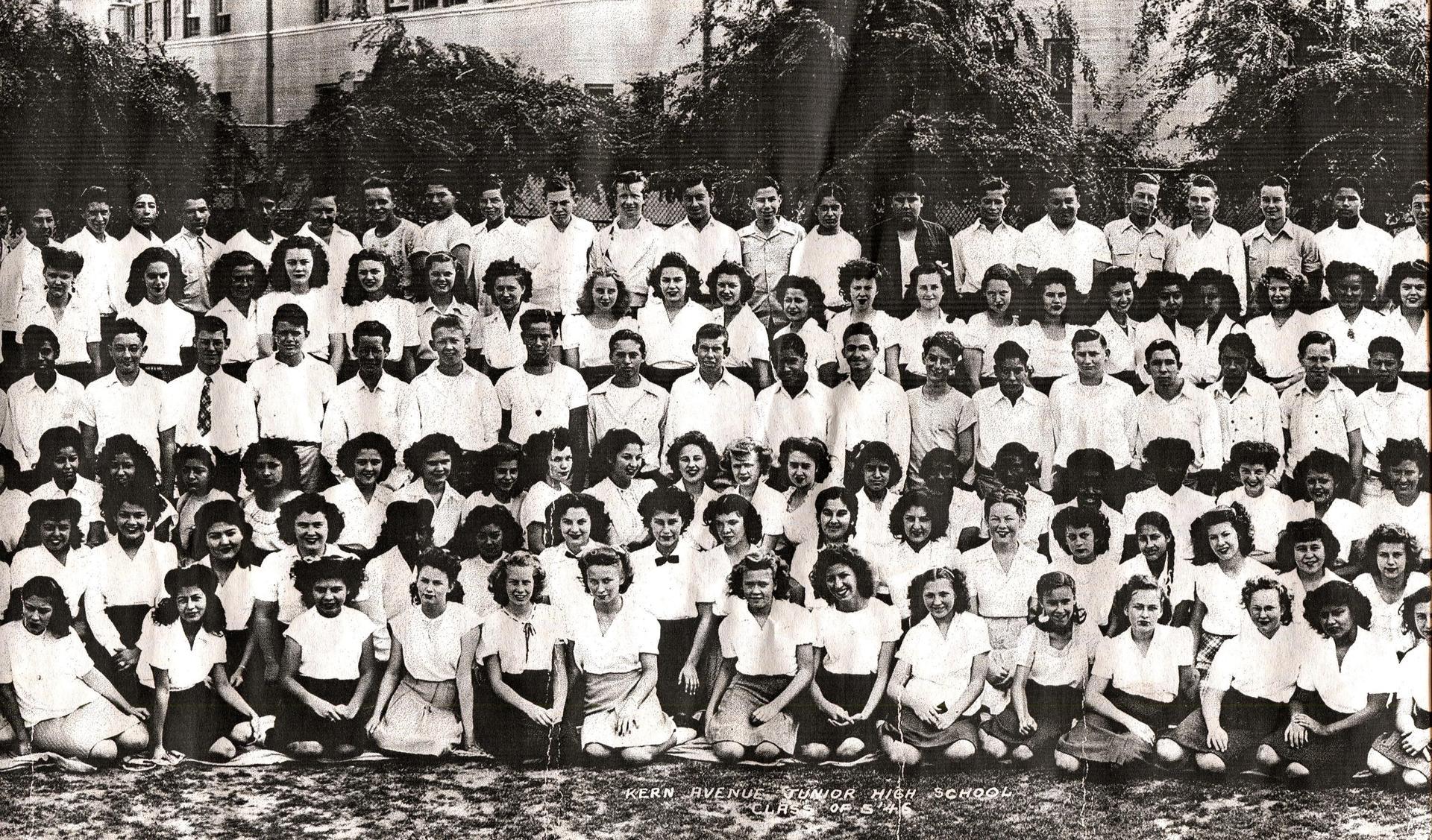Kern Avenue Junior High 1940s