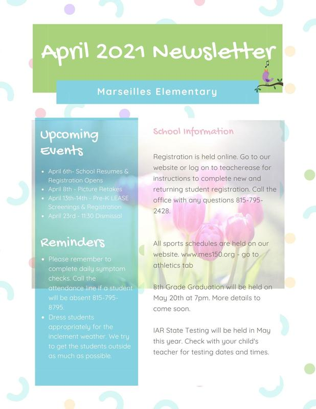 2021 April Newsletter Featured Photo