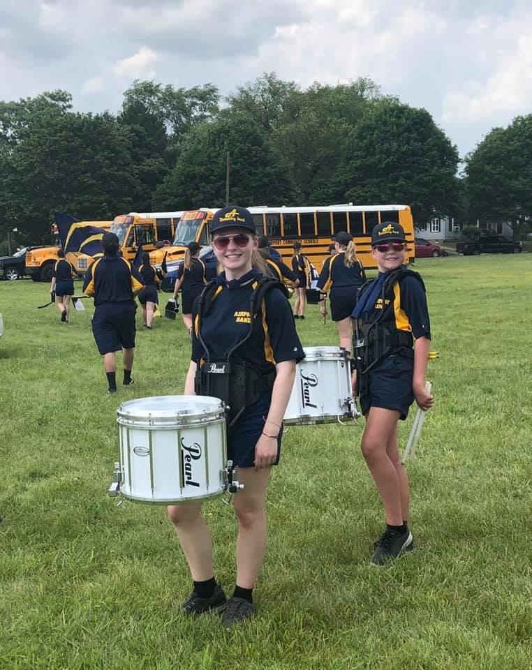 What only the coolest drumlines are wearing this year!