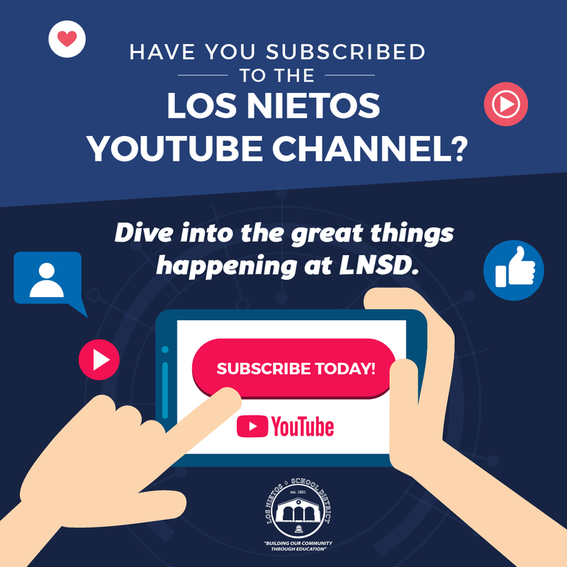 Los Nietos SD's YouTube Channel! Featured Photo