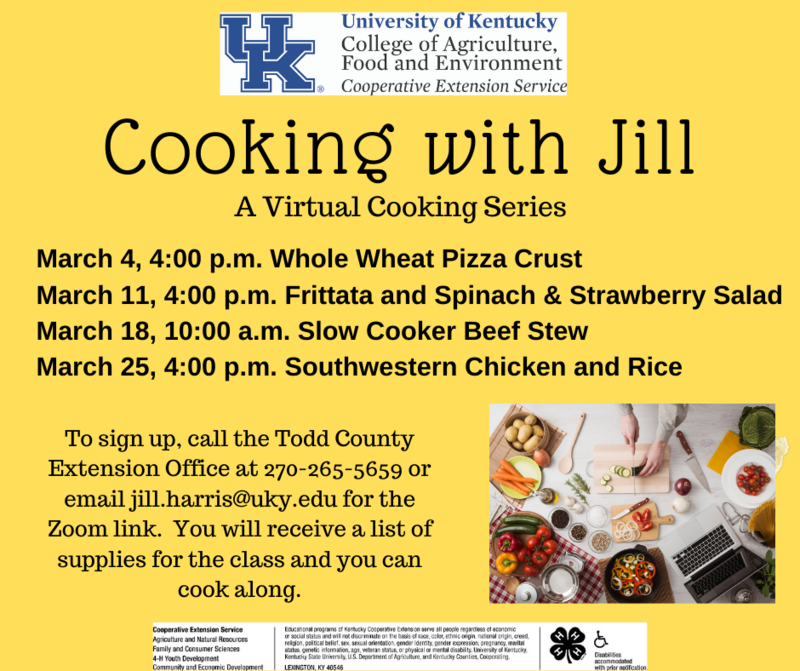 Cooking with Jill! Featured Photo