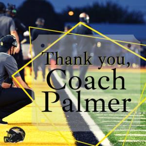thank you coach palmer
