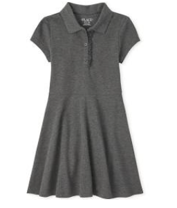 gray polo dress