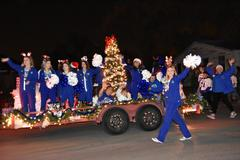 WSISD school board members and students in the Brewer High School Theatre Department, Cheer, Band, Color Guard, Drill Team and baseball Team well as members of the Brewer Middle and High School Football Teams participated in the City of White Settlement's Holiday Parade on Dec. 1.