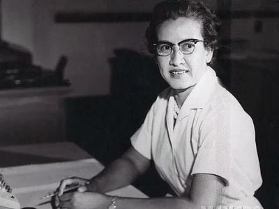 photo of katherine johnson