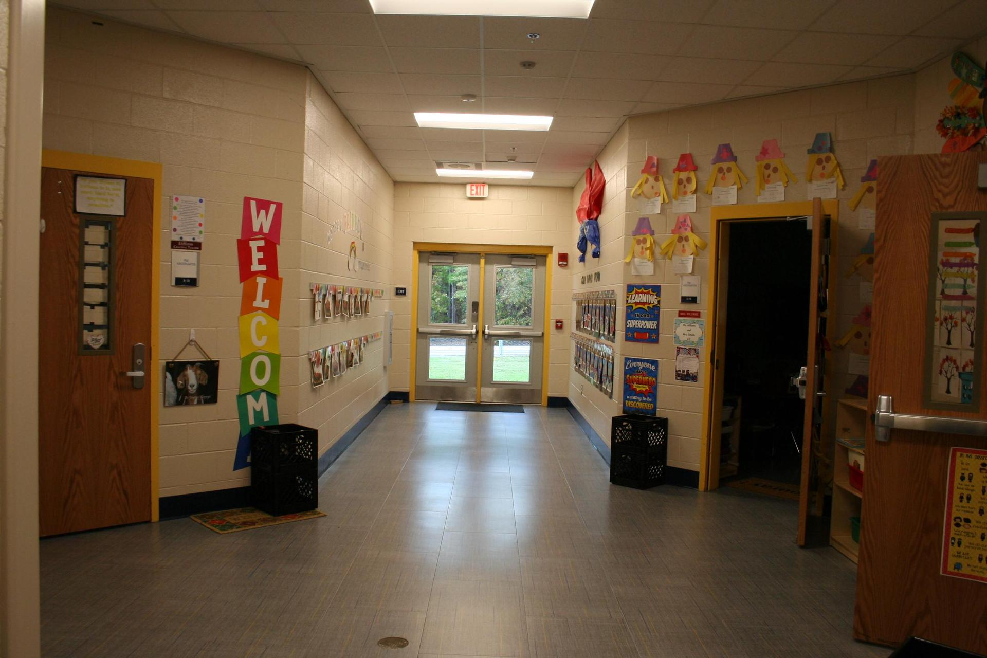 Wood Elementary New 4K 3 Classroom Addition - Inside View