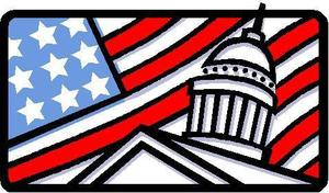 United States flag clip art