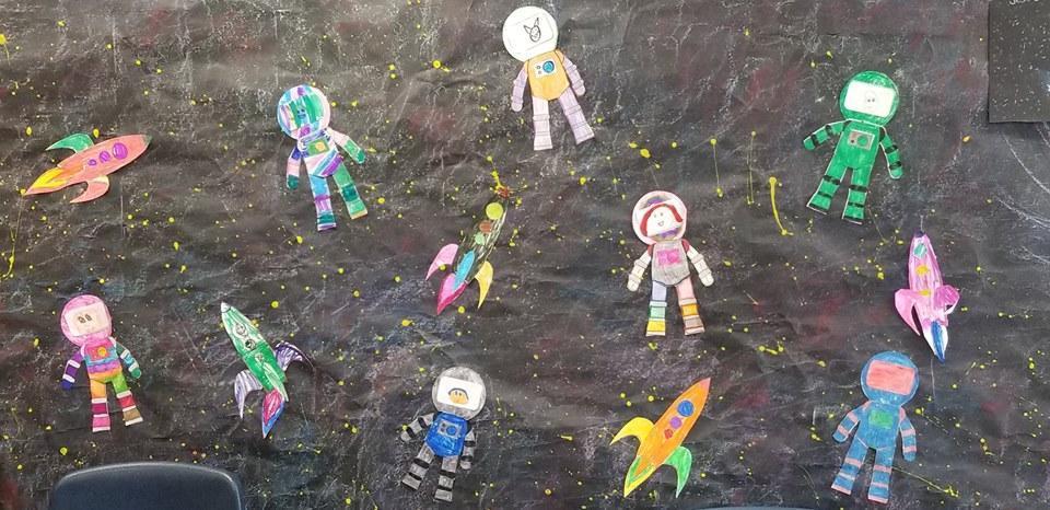 Astronaut Art